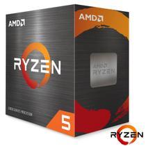 Processador AMD Ryzen 5 5600X, 3.7GHz (4.6GHz Turbo) 6-Cores/12T 35MB, Socket AM4 - 100-100000065BOX -