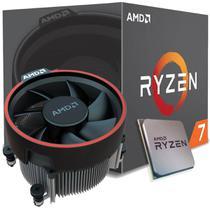 Processador amd ryzen 7 2700, cooler wraith spire, cache 20mb, 3.2ghz (4.1ghz max turbo), am4, sem vídeo - yd2700bbafbox -
