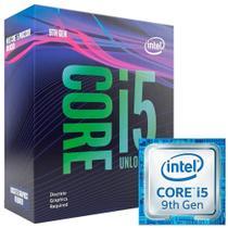 Processador Core i5 9600KF 3.7 GHz (4.6 GHz Frequência Máxima) LGA 1151 BX80684I59600KF INTEL -
