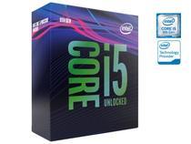 Processador core I5 LGA 1151 intel  (43286-5) Bx80684i59600k hexa core I5-9600K 3.7ghz 9mb cache 9ger sem cooler -