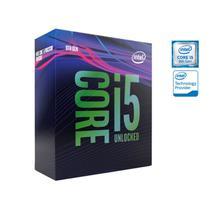 Processador core i5 lga 1151 intel  hexa core i5-9600kf 3.7ghz 9mb cache 9ger s/cooler ( sem video) -