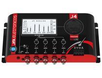 Processador de Audio 4 Vias JFA J4 Redline -  Crossover Digital e Equalizador Multiplas bandas -