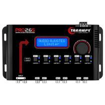 Processador de Áudio Taramps PRO 2.6S 2 Entradas 6 Saídas Digital Crossover - PRO 2.6S -