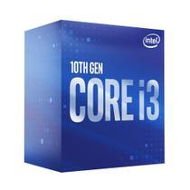 Processador Intel Core i3-10100F 6MB 3.6GHz - 4.3Ghz LGA 1200 BX8070110100F -
