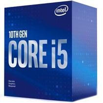 Processador Intel Core i5-10400F, Cache 12MB, 2.9GHz (4.3GHz Max Turbo), LGA 1200 - BX8070110400F -