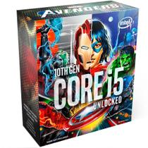 Processador Intel Core i5 10600KA Avengers Marvel Collector's Edition LGA 1200 4.1GHz -