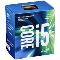 Processador Intel Core i5-7400 3.0GHz, Cache 6MB, LGA 1151, Intel HD Graphics 630 - Box -