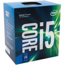 Processador Intel Core i5-7400 Kaby Lake 7º Geração Cache 6MB 3.0Ghz  LGA 1151 Intel HD Graphics - BX80677I57400 -
