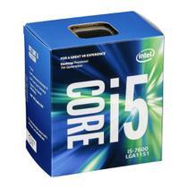 Processador Intel Core i5-7600 (LGA1151 - 4 núcleos - 3,5GHz) - BX80677I57600 -