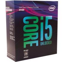 Processador Intel Core i5-8600K Coffee Lake (LGA1151 - 6 núcleos - 4,3GHz) - BX80684I58600K -