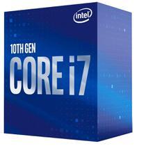 Processador Intel Core i7-10700 Box LGA 1200 8 Cores 16 Threads 2.9GHz 16MB Cache UHD Intel 630 -