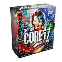 Processador Intel Core i7-10700K Avengers Edition Octa-Core 3.8GHz LGA1200 -