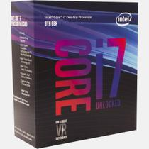 Processador Intel Core i7 8700K Coffee Lake Cache 12MB 3.7GHz (4.7GHz Max Turbo) LGA 1151 -