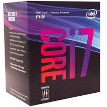 Processador intel lga 1151 core i7 8700 3.20 ghz 12mb cache coffee lake 8a geracao -