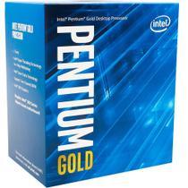 Processador Intel Pentium G5400 Gold LGA 1151 Coffe Lake 8ª Geração Cache 4MB 3.7GHz - BX80684G5400 -
