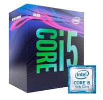 Processador P/ Desktop Intel Core i5 9400 LGA 1151, 2.90GHz (4.10GHz Turbo) 9MB, 9ª Geração  Vídeo Integrado - BX80684i59400 -