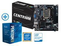 Processador Pentium Lga1151 Intel Compre Junto: G5400 3.7ghz 4mb Cache + Placa Mãe H310 Ddr4 2666mhz -