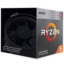 Processador ryzen 5 3400g am4 3.6 ghz yd3400c5fhbox  amd -
