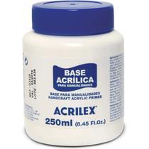 Produto para Artesanato Base Acrilica 250ML CX com 03 - GNA