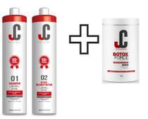 Progressiva-jc 2 UND P1 e P2 De 1 L Cada+ Botox Force Professional 1 KL -