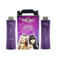 Progressiva Kellan Smooth 2 Passos Top Original - Shampoo 1000ml + Máscara Condicionante 1000ml - Kellan cosmeticos