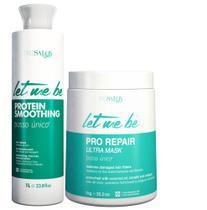 Progressiva Let Me Be Organic 1 L + Btx Pro Repair Ultra Mask1kg Let Me Be Organic 1 kg -