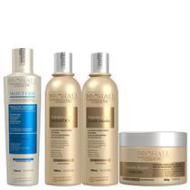 Progressiva Select One 300ml + Kit Home Care Shampoo 300ml + Condicionador 300ml + Máscara 300g Extreme Repair - Prohall