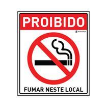 PROIBIDO Fumar Neste Local - 2g