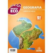 Projeto Eco - Geografia - Ensino Fundamental - 5º Ano - Positivo editora