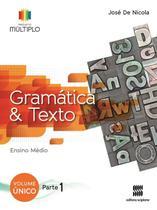 Projeto Múltiplo - Gramática - Ensino Médio - Scipione