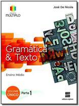 Projeto Multiplo - Gramática - Vol. Único - 01Ed/14 - Scipione