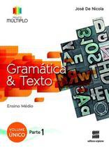 Projeto Múltiplo Gramática - Volume Único - Scipione