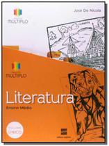 Projeto multiplo literatura - volume unico - ensin - Scipione