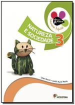 Projeto Presente: Natureza e Sociedade - Vol.3 - Educação Infantil - Moderna - didaticos
