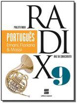 PROJETO RADIX - PORTUGUES - 9o ANO - Scipione