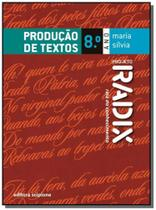 Projeto radix - producao de textos - 8 ano - Scipione