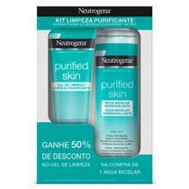 Promopack Neutrogena Purified Skin - Compre 1 Água Micelar, ganhe 50% de desconto no Gel de Limpeza 80g -