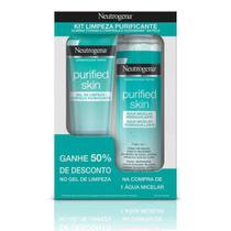 Promopack Neutrogena Purified Skin - Compre 1 Água Micelar, ganhe 50% desconto no Gel de Limpeza 80g -