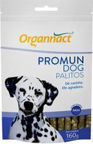 Promun dog palitos sachê 160g organnact 160 g cachorro -