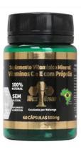 Própolis 85% Extrato Seco-500 Mg-vitamina C E E -60 Cápsulas - WaxGreen