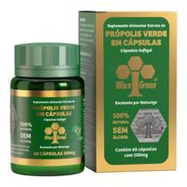 Própolis Verde 86% Wax Green-60 Cápsulas 500mg - WaxGreen