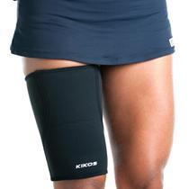 Proteção De Coxa Em Nylon E Neoprene Preto Ab2027 Kikos -