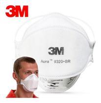 Proteção Respiratória PFF2 Aura 9320+BR 3M - Unidade -