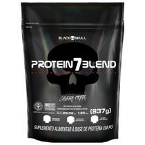 Protein 7 Blend 837g (Refil) - Black Skull -