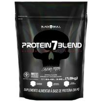 Protein 7 Blend Morango Refil 1,8kg - Black Skull -