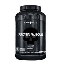 Protein Muscle - 900g Baunilha - Black Skull -