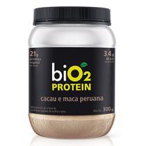 Proteína de Arroz e Ervilha Cacau e Maca Peruana Bio2 300g -