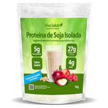 Proteína de Soja Isolada (90% PIS) Viva Salute - 1Kg - A Granel