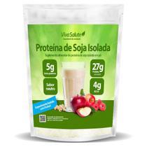 Proteína de Soja Isolada (90% PIS) Viva Salute - 500g - A Granel