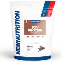 Proteína Isolada da Soja Chocolate 900g NewNutrition -